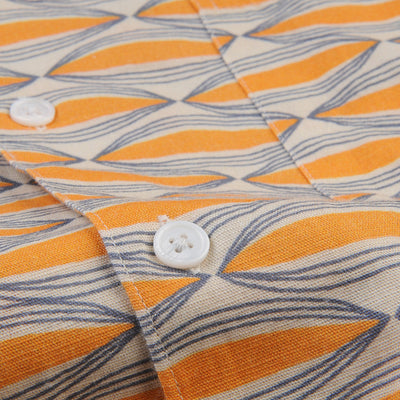 Far Afield - Selleck S/S Shirt in Wallington Linen