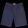 Far Afield - Drawstring Short in Ensign Blue Cotton Twill