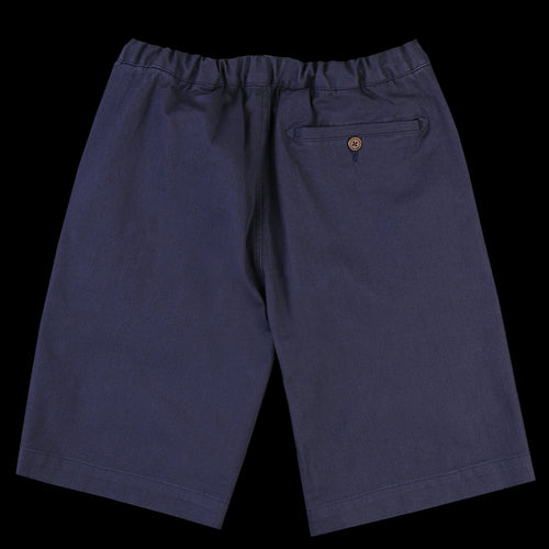 Drawstring Short in Ensign Blue Cotton Twill