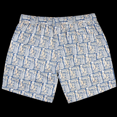 Far Afield - Printed Swimshort in Modazz