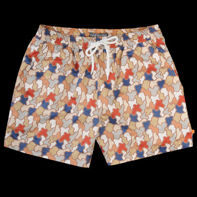 Far Afield - Printed Swimshort in Jazz Camo