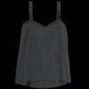 Pas de Calais - Cotton Silk Petite Camisole in Black