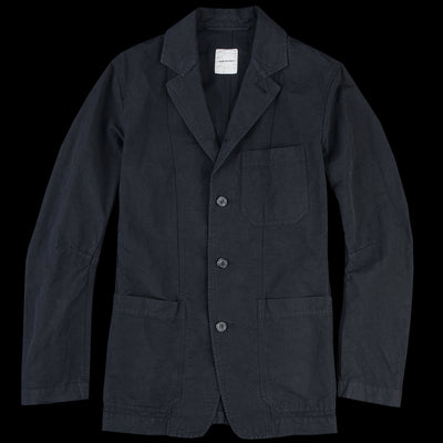 Sage de Crêt - Cotton Linen Jacket in Black