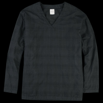 Sage de Crêt - Check Weave Pullover in Black