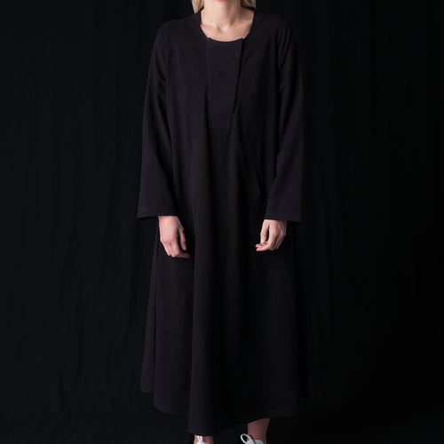Arya Kaftan Dress in Black