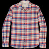 Alex Mill - Plaid Chore Shirt in Red Blue & Cream