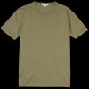 Alex Mill - Standard Slub Cotton Tee in Military Green