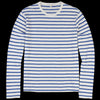 Alex Mill - Mariner Longsleeve Tee in Off White & Blue