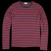 Alex Mill - Mariner Longsleeve Tee in Navy & Red