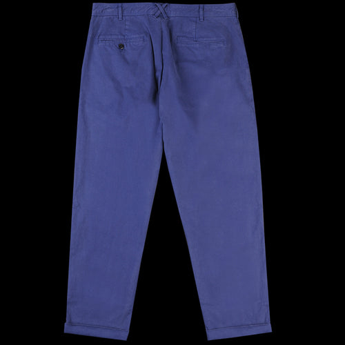 The Standard Pleated Chino in Navy