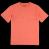 Eastlogue - Pocket Tee in Red