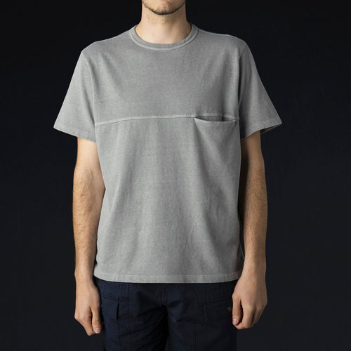 Pocket Tee in Grey