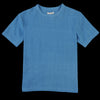 Umber & Ochre - Justice Woven Tee in Blue