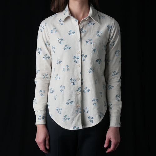 Rosalyn Shirt in Block Print