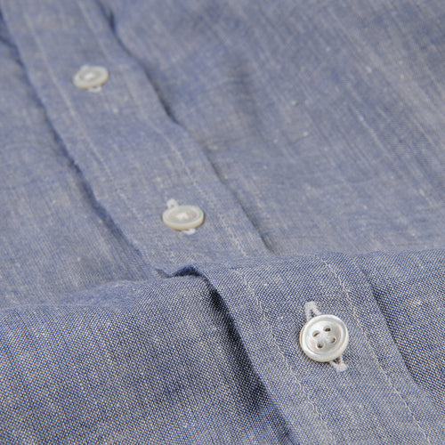 Brother Shirt in Navy Chambray