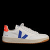 Veja - V-12 B-Mesh in White Indigo Orange