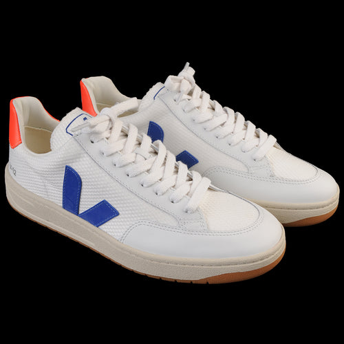 V-12 B-Mesh in White Indigo Orange