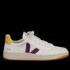 Veja - V-12 B-Mesh in White Berry Gold Yellow
