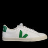 Veja - Esplar Leather in White Emeraude