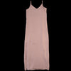 Grei. - Long Layered Slip Dress in Dusty Rose