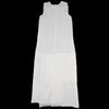 Grei. - Ripple Noren Panel Column Dress in White