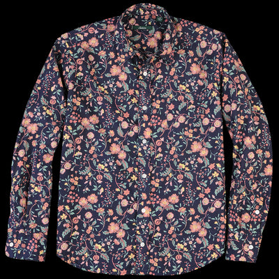 Gitman Vintage - Brother Shirt in Navy Floral