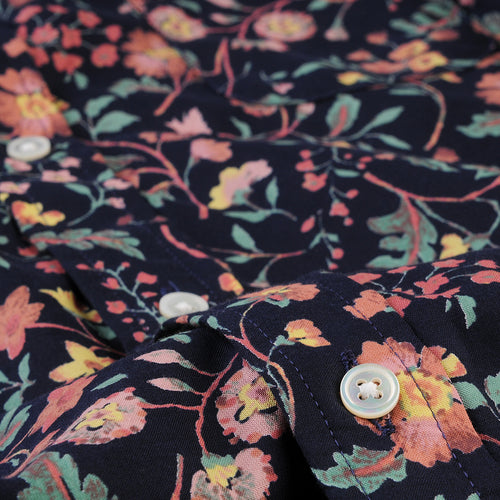 Brother Shirt in Navy Floral
