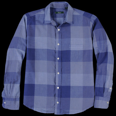 Gitman Vintage - Brother Shirt in Navy Check