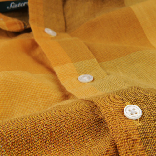 Brother Shirt in Yellow Check