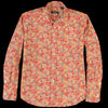 Gitman Vintage - Brother Shirt in Orange Garden Floral