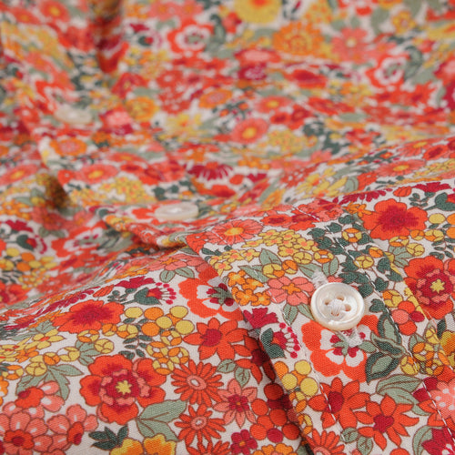 Brother Shirt in Orange Garden Floral