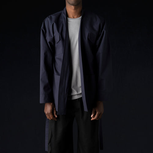 Ripstop M65 Karate Jacket in Midnight Blue