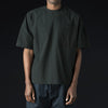 Grei. - Crinkle Oversized Woven Crew in Ink