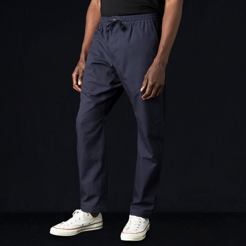 "Ripstop The ""New"" Relaxed Gusset Pant in Midnight Blue"