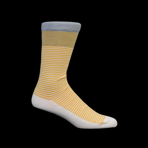 Breton Stripe Sock in Tournesol