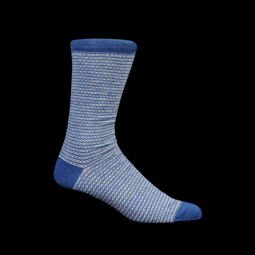 Maxwell Sock in Cobalt