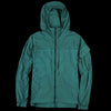 Woolrich - Overdyed NY Utility Jacket in Turquoise Blue