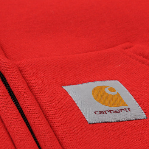 Car-Lux Hooded Jacket in Cardinal
