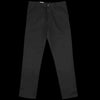 Carhartt WIP - Single Knee Pant in Black Rigid