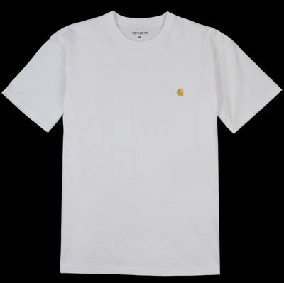 Carhartt WIP - Chase Tee in White