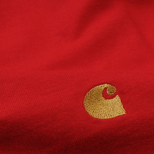 Chase Tee in Cardinal