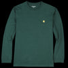 Carhartt WIP - Chase Tee in Bottle Green