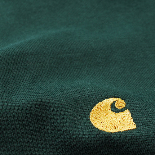 Chase Tee in Bottle Green