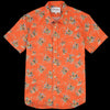 Corridor - Tart Ruby Hawaiian SS Shirt in Orange
