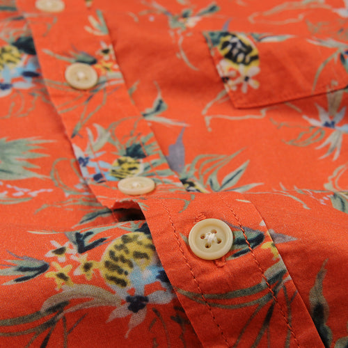 Tart Ruby Hawaiian SS Shirt in Orange