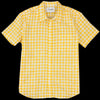 Corridor - Watercolor Gingham SS Shirt in Yellow