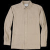 Corridor - Stripe Linen Overshirt in Natural