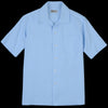 Universal Works - Open Collar Shirt in Sky Blue Oxford