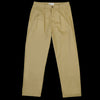 Universal Works - Double Pleat Pant in Sand Twill