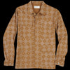 Universal Works - MW Fatigue Jacket in Khaki Aztec Print Poplin